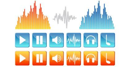 Sound Icons Vector