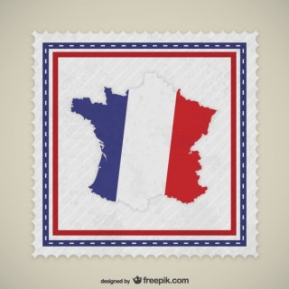 France Stamp Free Vector