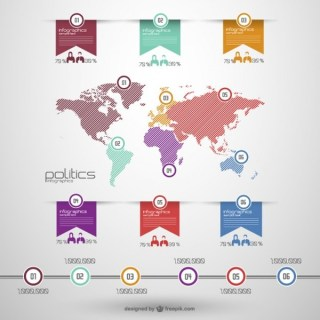 Global Politics Infographic Free Vector