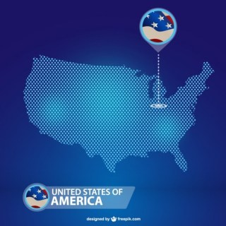Usa Free Vector Map Download Free Vector