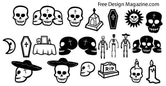 Free Skull Clip Art