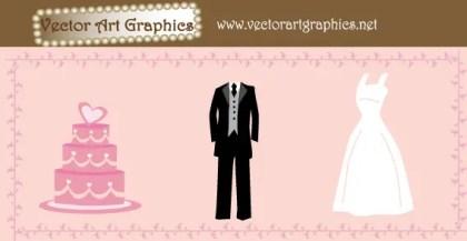 048-Wedding Free Vector Graphics