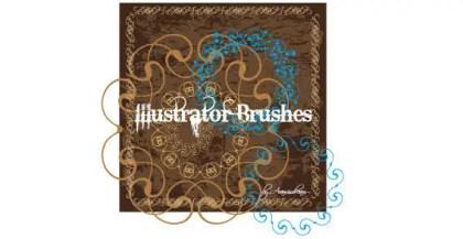 Illustrator Swirl Brushes
