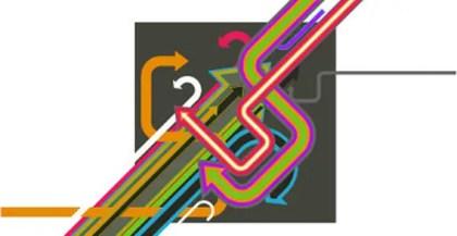 Modern Arrows Vector