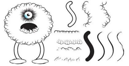 Lumpy Illustrator Brushes