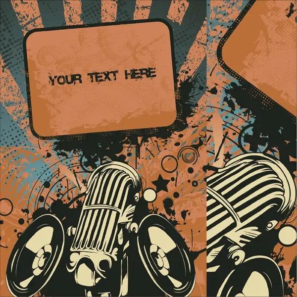Free Concert Poster Vector