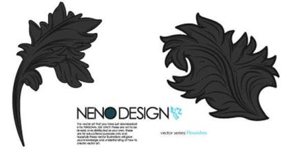 Flourishes Vector Graphics