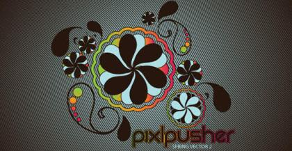 Spring Flower Vector Background