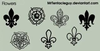 Heraldic Fleur De Lis Vector