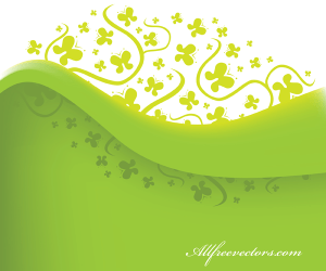 Green Nature Vector Background
