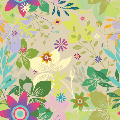 Colorful Seamless Background Vector