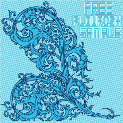 Free Flourish Vector
