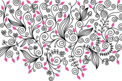 Free Nature Swirls Vector