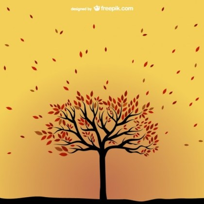Autumn Tree Free Vector