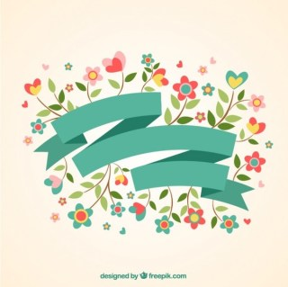 Beautiful Spring Banner Free Vector