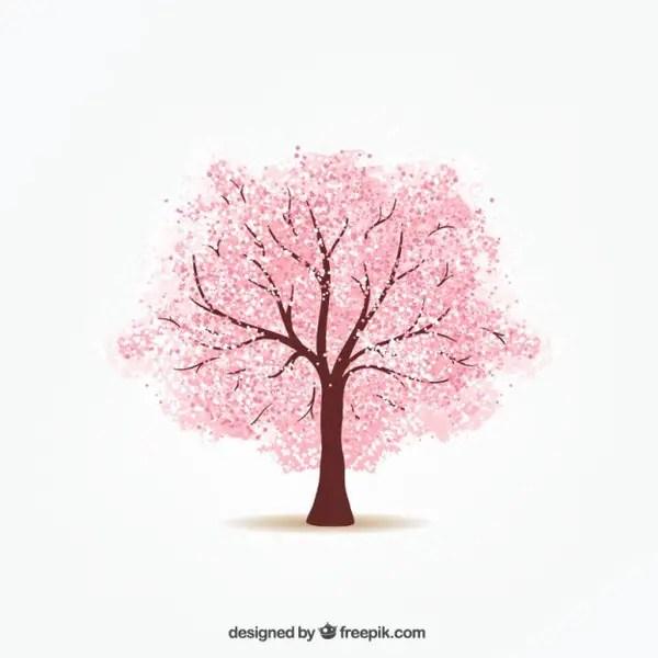 Cherry Tree Free Vector