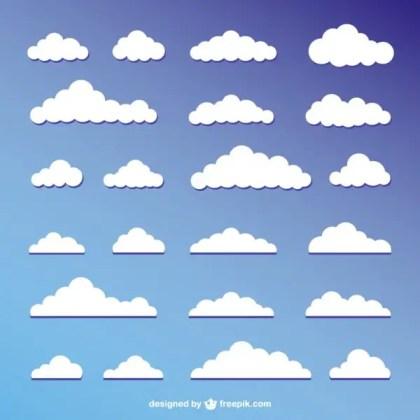 Cloudscape Design Free Vector