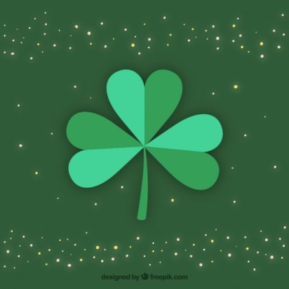 Clover Background Free Vector