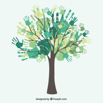 Diversity Tree Hands Free Vector