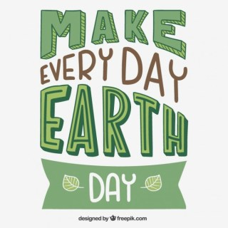 Everyday Is Earth Day Free Vector