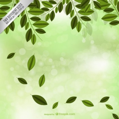Falling Leaves Free Vector