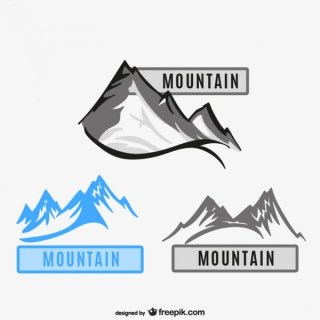 Illustration of Mountains Free Vector