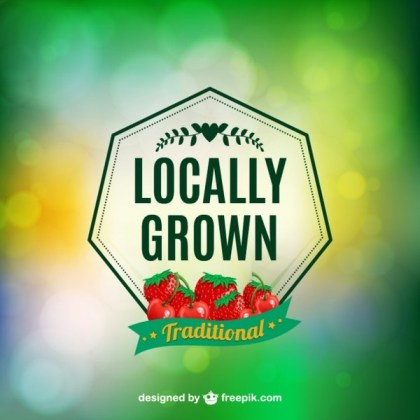 Locally Grown Label Free Vector