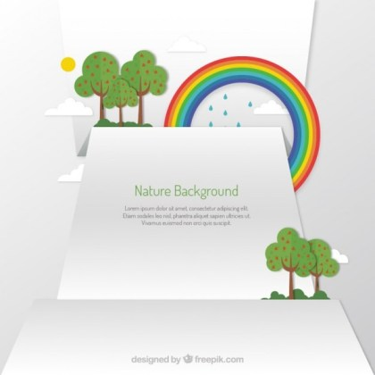 Nature Background Free Vector