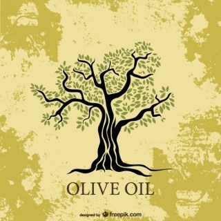 Olive Tree Illustration Free Vector