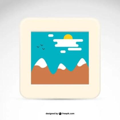 Photography Logo Polaoid Image Free Vector