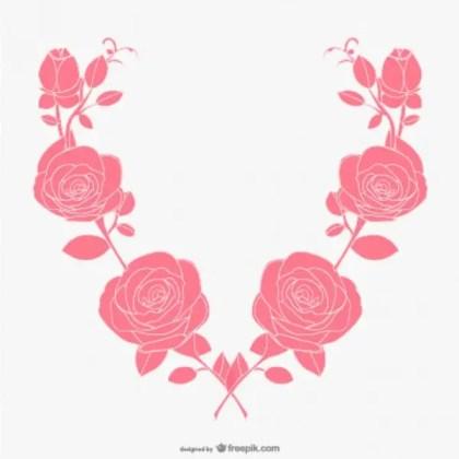 Roses Art Free Vector