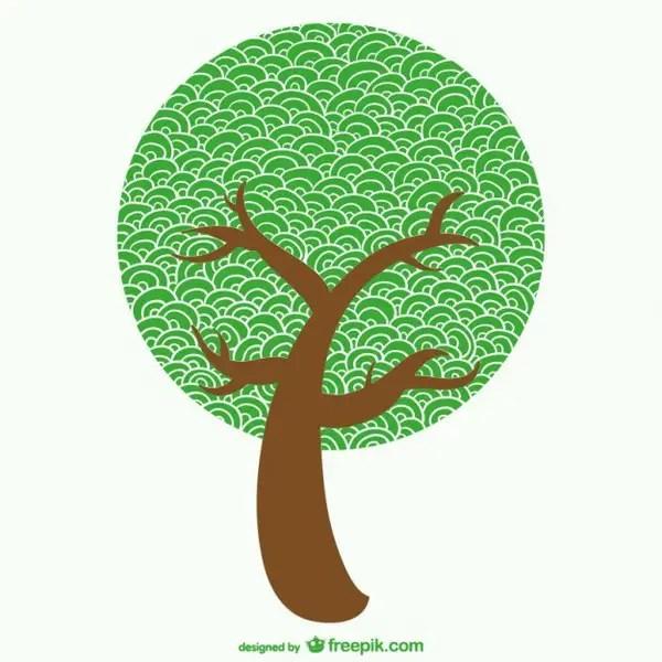 Sketchy Tree Free Vector