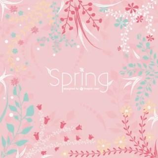 Spring Floral Illustration Free Vector