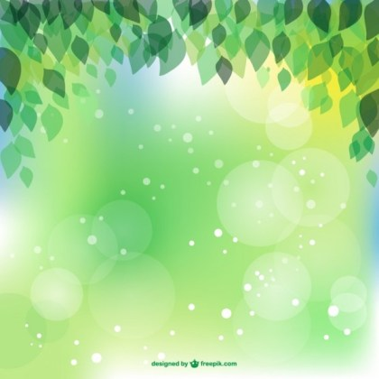 Spring Leaves Image Free Vector