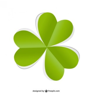 St Patricks Day Shamrock Free Vector