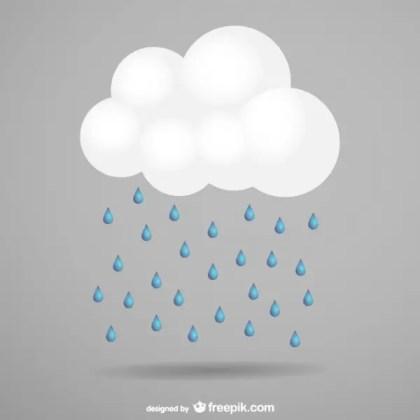 Storm Cloud Free Vector