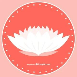 White Lotus Free Vector