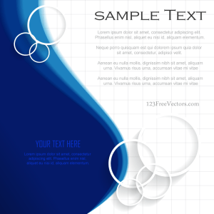 Blue Background Template Illustrator Free