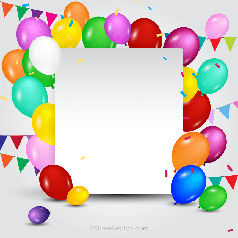 Happy Birthday Card Template