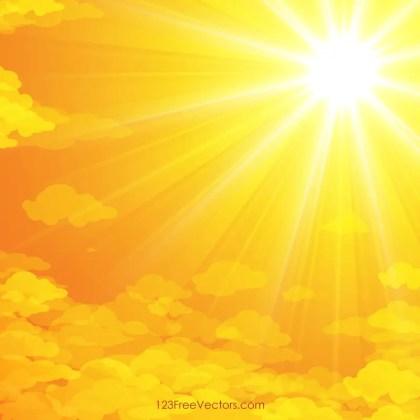 Sunshine Background Clipart