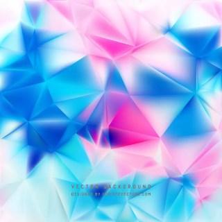 Blue Purple Geometric Polygon Background