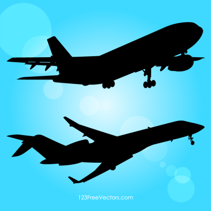 Airplane Stock Vector