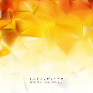 Red Yellow Polygon Background