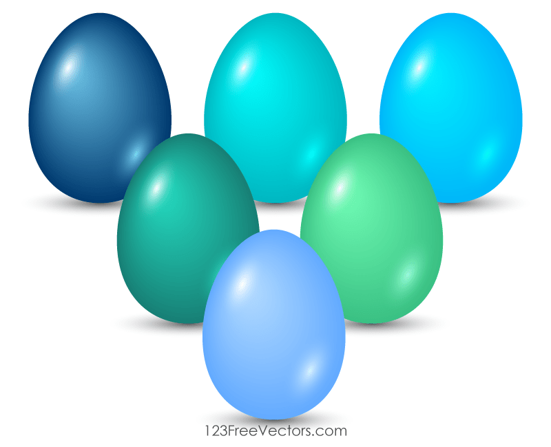 Colorful Easter Egg Images Free
