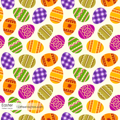 Free Easter Egg Pattern