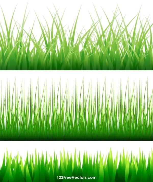 Free Vector Grass Blades