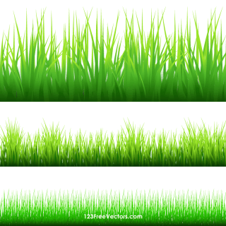 Grass Border Clip Art