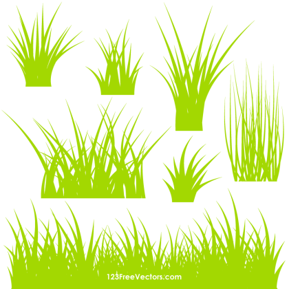 Grass Vector Ai