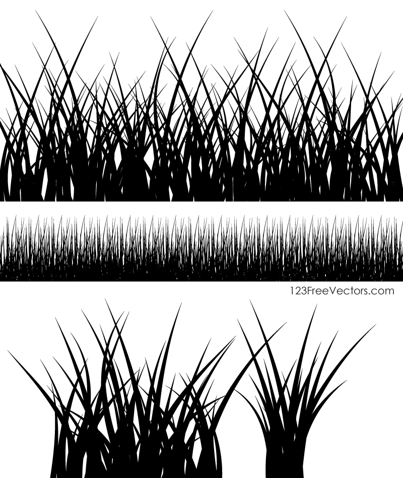 Grass Silhouette Images