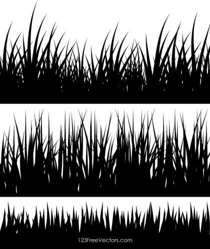 Grass Silhouette Clip Art